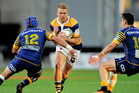 AU REVOIR: Dan Hollinshead is off to play rugby in France. PHOTO: photosport