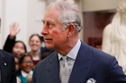 Britain's Prince Charles gave a speech about the Holocaust. Photo / AP