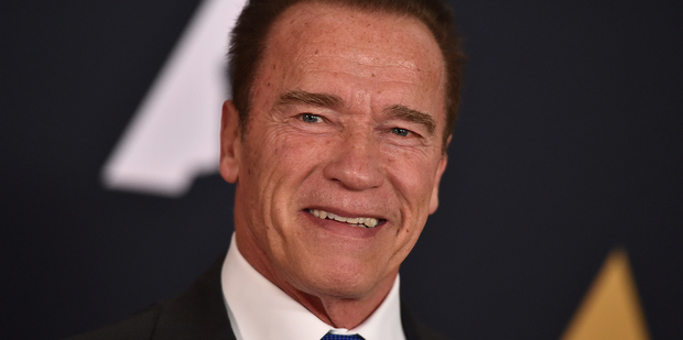 Loading Arnold Schwarzenegger has hit back at Donald Trump on Twitter, suggesting they swap jobs. Photo / AP