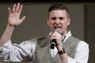 Richard Spencer says he fears the punch video will haunt him forever and that he will hate it. Photo / AP