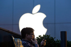 The Dow moved higher on gains in shares of Apple, which recently traded 6.5 per cent higher. Photo / AP