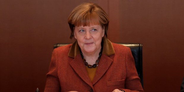Angela Merkel, German chancellor, said her country had no control over the euro. Photo / AP