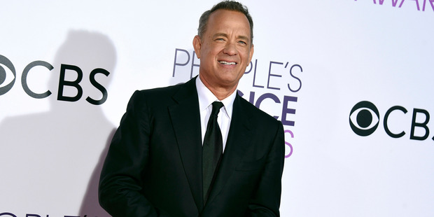 Tom Hanks is the proud owner of a new compact car. Photo / AP