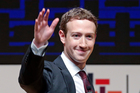 Mark Zuckerberg is now worth more than $55bn. Photo / AP