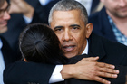 The former president will be a powerful weapon for the Democrats. Photo / AP