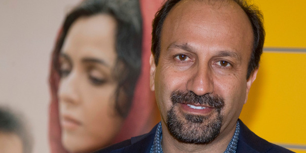 Iranian director Asghar Farhadi during the premiere of his film, The Salesman, in Paris. He will boycott the Oscars whether he's allowed to go or not. Photo/AP