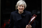 Although Theresa May's government has been bullish in predicting it can land a trade deal before it leaves the EU in two years, such a timeframe would be unprecedented. Photo / AP