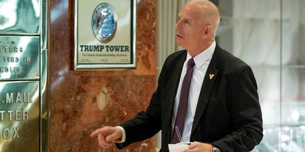 Keith Schiller, Trump's private security director. Photo / AP