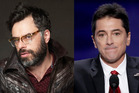 Jemaine Clement (left) and Scott Baio. Photo / AP