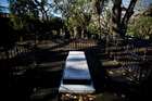 William Hobson is buried in the Symonds St cemetery at Grafton. Photo / Richard Robinson