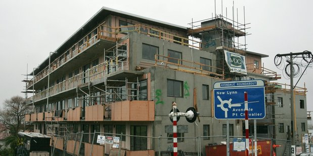 A residential construction site in Auckland. NZH File pic