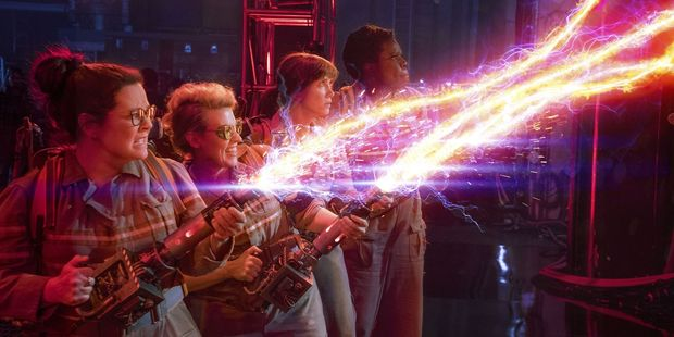 The cast of the all-female Ghostbusters, which was slammed at the box office. Photo/Supplied