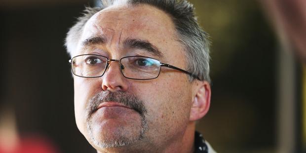 Former Conservative Party member John Stringer. Photo / Doug Sherring.