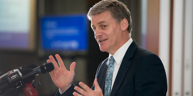 """Bill English says National will be """"taking nothing for granted"""" in the lead-up to the election in September. Photo / Mark Mitchell"""