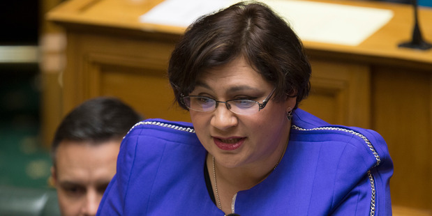 Green Party co-leader Metiria Turei, pictured here in Parliament, gave her State of the Nation speech today. Photo / Mark Mitchell