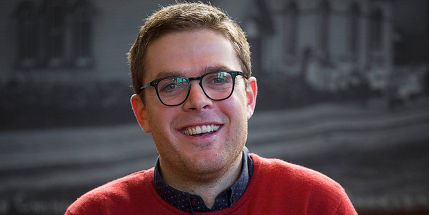 Comedian Guy Williams says he jumped at MCing the Labour-Greens State of the Nation event. Photo / Chris Loufte