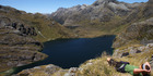 Lake Harris on the Grand Traverse Hike, taking in the Greenstone and Routeburn tracks. Supplied to the Herald on Sunday by Ultimate Hikes for use in HoS Living