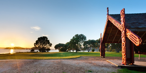 Waitangi Treaty Grounds.