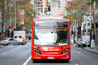 New figures from all 280 bus services around Auckland show the percentage of time each service arrives within five minutes of its scheduled departure time. Photo / File