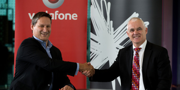 New Zealand mobile and internet companies are lacking in customer services, and the two biggest providers Spark and Vodafone trail the field. Photo / Brett Phibbs