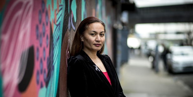 """Greens Māori development spokeswoman Marama Davidson fronted the Greens' plan proposal to make te reo Māori a """"core subject"""" in schools from years 1 to 10. Photo / Dean Purcell"""