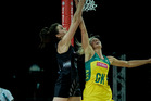 Silver Ferns player Bailey Mes. Photo / Dean Purcell.
