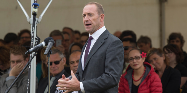 Labour leader Andrew Little says PM Bill English  had failed his first test of leadership by refusing to go to Waitangi next weekend. Photo / Mark Mitchell