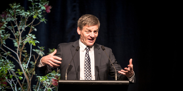 Prime Minister Bill English announced the September election date yesterday afternoon. PHOTO/FILE