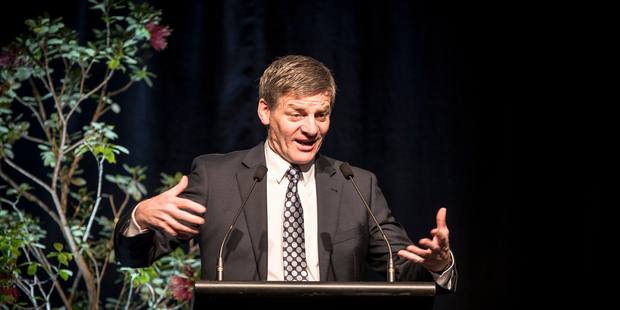 Prime Minister Bill English says he is looking forward to speaking to US President Donald Trump, despite Aussie PM Malcolm Turnbull's experience. Photo / Michael Craig