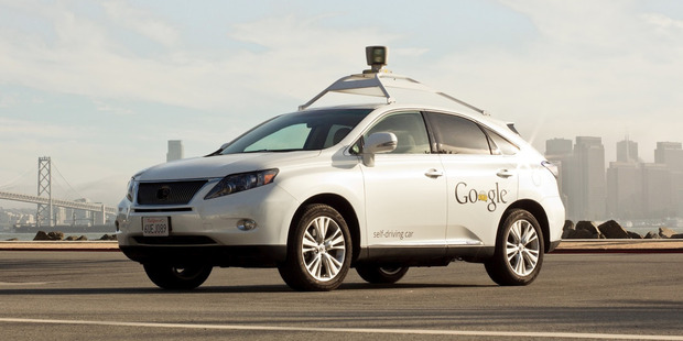 The internet giant announced that it was developing driverless cars in 2009 and began testing them on California's roads in 2012. Photo / Supplied