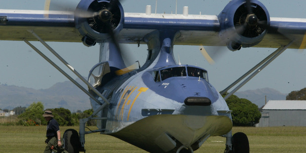 The Catalina visit has had to be cancelled for lack of flying crew.  HBT100761-07