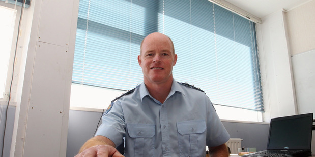 STOLEN GOODS: Inspector Andy Sloan said more than 20 burglaries had been reported during the weekend. PHOTO/FILE.