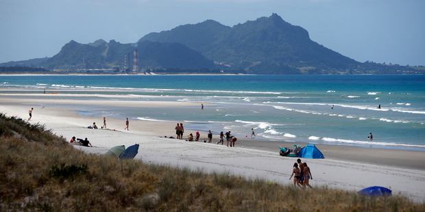 A man  drowned off Ruakaka Beach today after he and two others were swept away. Photo / File