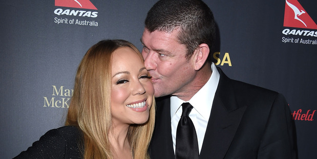 Mariah Carey has penned a new tune about her break up with James Packer. Photo / AP