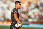 The 23-year-old fullback insists he won't be found ranting and raving at teammates. Photo / Mark Kolbe/Getty Images