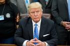 President Donald Trump. Photo / AP