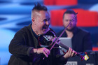 Nigel Kennedy performs ahead of the Men's Final match. Photo / Getty Images