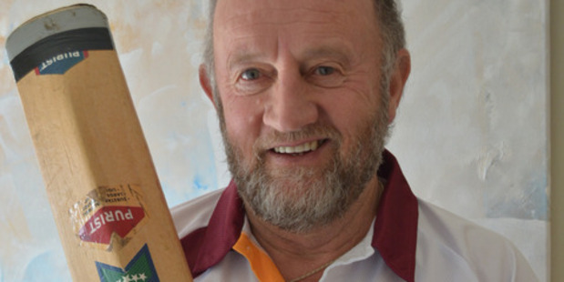 Marton's Allan Pond will line up for Central District's over 60s