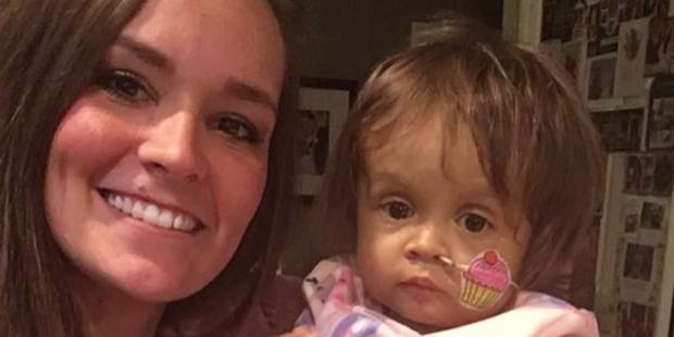 Kiersten Miles donated a portion of her liver to Talia Rosko - a priceless gift that the child's family says saved the 16-month-old's life. Photo / Washington Post
