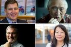 Jason Krupp, David Wong, Susan Zhu, Paul Spoonley (Clockwise).