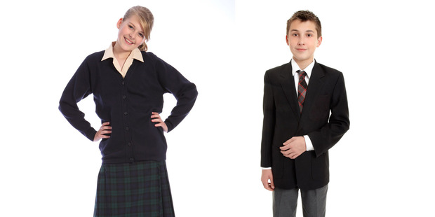 Kiwi parents are paying over $300 more for a school uniform than parents in the UK. Photo / 123RF