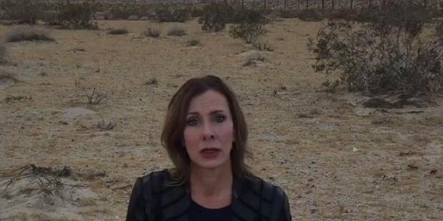 Loading Jennifer Asbenson was taken into the desert in the middle of nowhere. Photo / YouTube