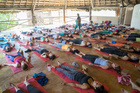 Yoga classes are a staple at most of the camps and are tailored to all fitness levels.