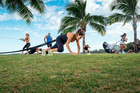 Bootcamp in Fiji with Crave Lifestyle holidays.