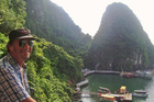 Craig Rutland during his travels through Asia.