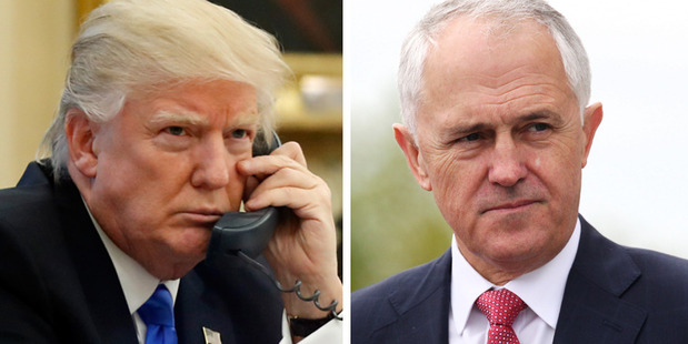 Loading PM Malcolm Turnbull has been left hanging by Donald Trump. Photos / AP, Doug Sherring