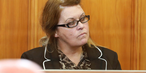 Donella Knox in court. Photo / Pool