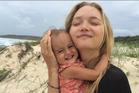 Gemma Ward and her daughter. Photo / Instagram
