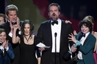 David Harbour, star of hit show Stranger Things, made an impassioned speech at the Screen Actor's Guild awards in Los Angeles