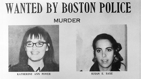 Susan Edith Saxe was caught five years after the robbery. Katherine Ann Power turned herself into authorities in 1993. Photo / Getty